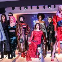 Wearing Oana Lupaș @Glamour Street Fashion Show 2017