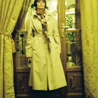 Fashion on film(5) at Soirées de la Mode, walking for female RO designer Isabelle Vijiiac